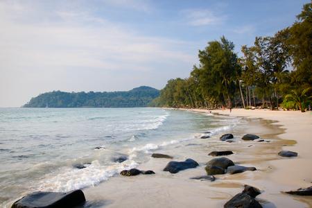 trat: koh-kood beach trat , Thailand Stock Photo