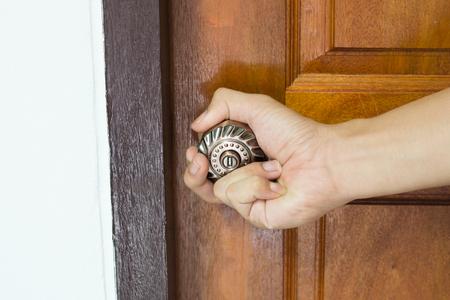 knob: Opening door knob