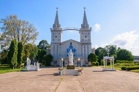 Church in nakhon phanom Thailand (wat-nak-bun-anna)