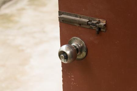 door knob: Door Knob Open House Stock Photo