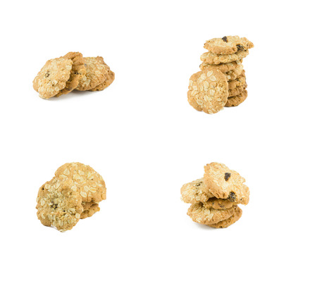brocken: cookie isolated on white