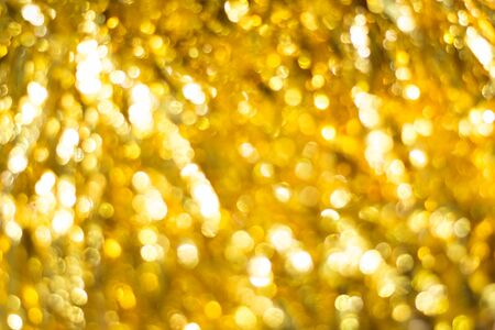 xmass: Christmas Gold Background. Defocused Background. Blurred Bokeh