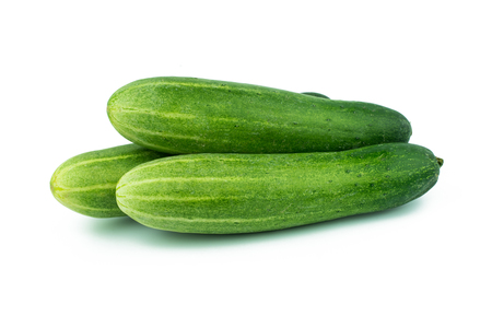 fresh cucumbers background
