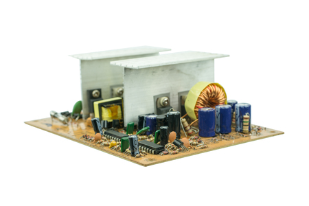 Electronic Circuits power supply unit isolated