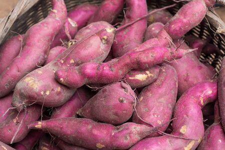 sweet potato background