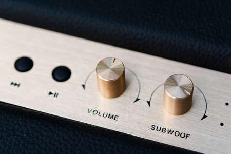volume button on speaker