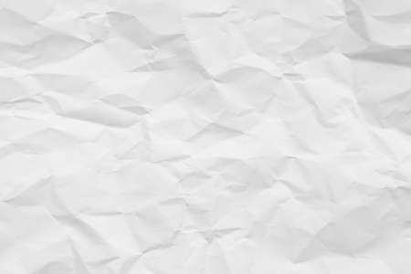 White crumpled paper texture background. Stock fotó