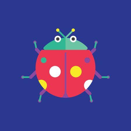 Ladybug, Insect Vector