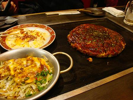 a japanese food in tokyo in japan