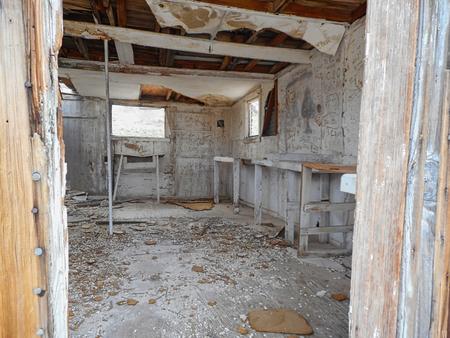inside an old farm house