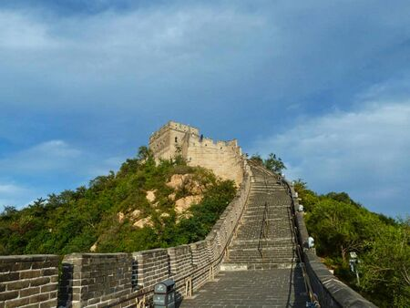 the chinese wall with no people
