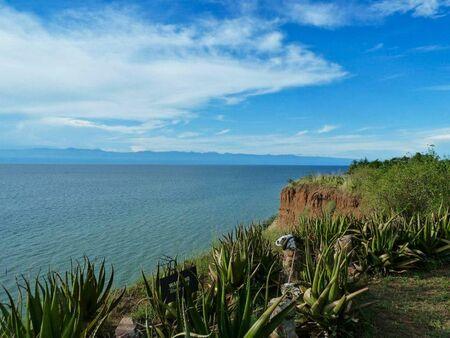 wonderful landscape at the ocean