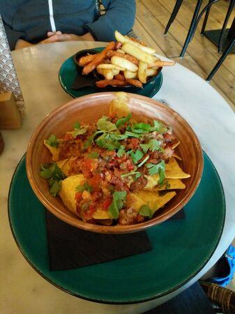 a thai food in a restaurant in amsterdam