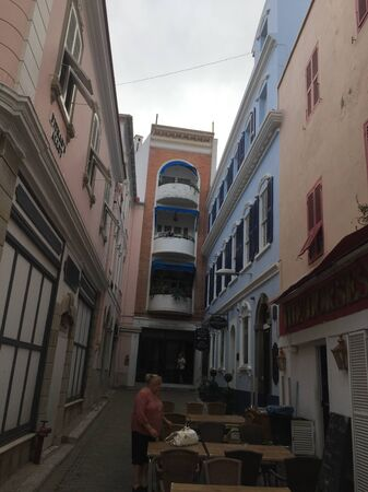 a small street in the village Reklamní fotografie