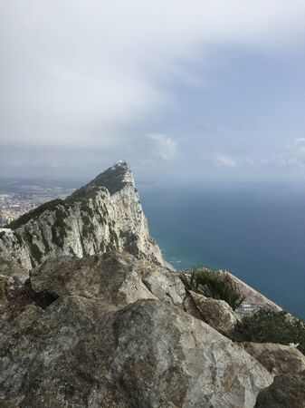 view from the mountain to gibraltar