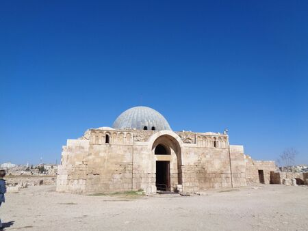 The church in jordan at summertime