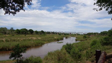 a dirty river in south africa