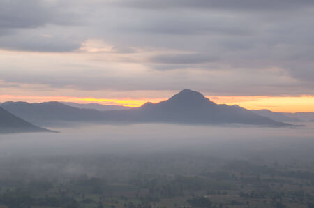 mist: Mountains with mist