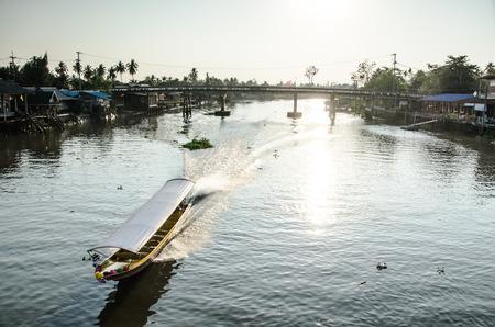 amphawa: View of Amphawa Floating market Amphawa Thailand