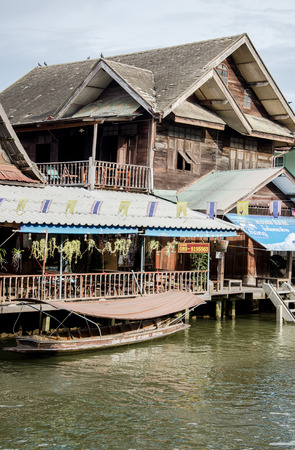 amphawa: View of Amphawa Floating market Amphawa Thailand