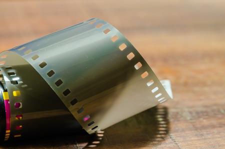 35 mm: Classic film 35 mm. Stock Photo