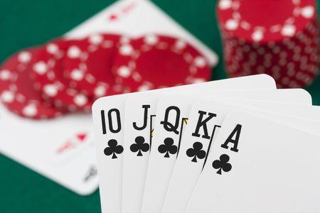 royal flush: Poker cards, royal flush