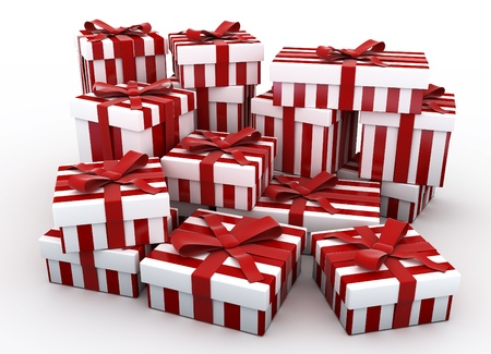 More 3D Christmas gifts photo