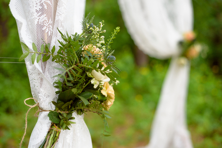 Floral party decorations. design wedding party, Bouquet at the wedding boho