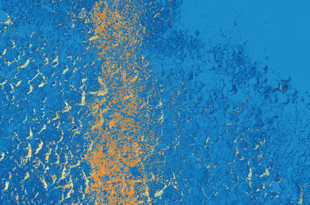 abstract blue, orange and light-green colors background for design. 免版税图像