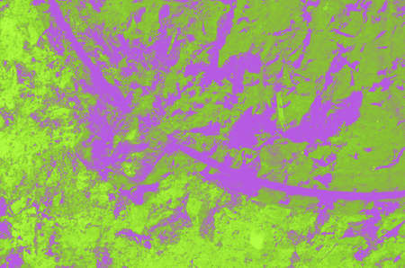 abstract acid green and purple background for design.