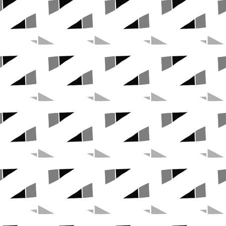 Vector seamless texture background pattern. Hand drawn, white, grey and black colors.