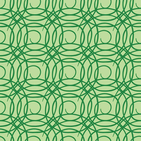 Vector seamless texture background pattern. Hand drawn and green colors.