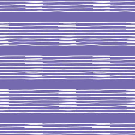 Vector seamless texture background pattern. Hand drawn, purple and white colors.