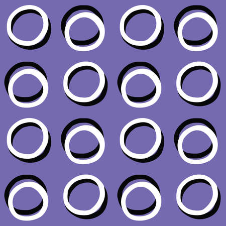 Vector seamless texture background pattern. Hand drawn, purple, black and white colors.