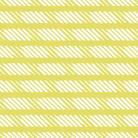 Vector seamless texture background pattern. Hand drawn, yellow and white colors.