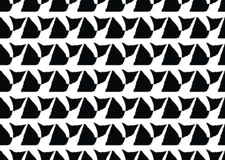 Vector texture background, seamless pattern. Hand drawn, black and white colors.