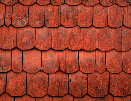 homogeneous: Texture of old painted wooden roofs.