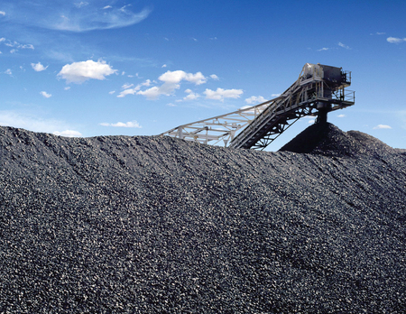 Mining and processing of coal