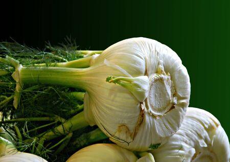 stinking: Young, green garlic.