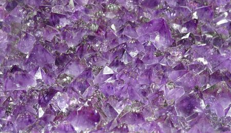 Crystals of natural stone stone fluorite.