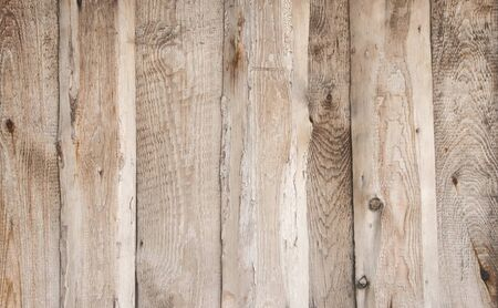Texture of wooden, dried untreated boards. Imagens