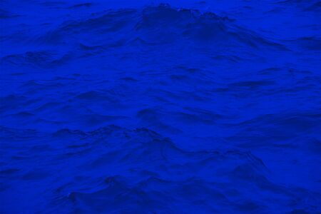 Abstract background, sea wave in blue.