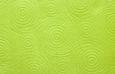 The texture of the textile paper towel is green.