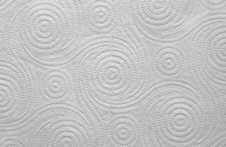 The texture of the textile paper towel is white.