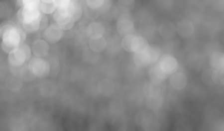 Beautiful bleached black and white bokeh Imagens