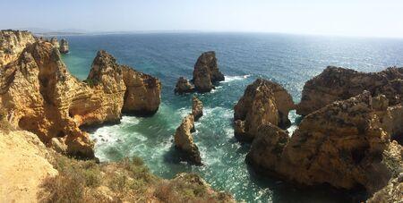 Ponta da piedade , Portugal Coast