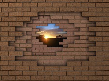 breaking down: breaking down walls