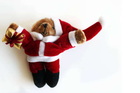 Santa Claus teddy bear Stock Photo - 623262