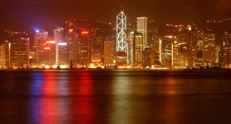 Hong Kong skyline Stock Photo - 711719