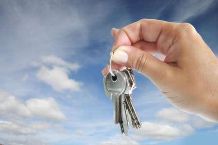 homebuyer: Handing over the keys